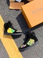 Louis Vuitton Rainbow Laser Magic Shoes pvc lace-up LV casual board Trainer 17