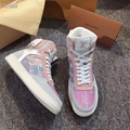 Louis Vuitton Rainbow Laser Magic Shoes pvc lace-up LV casual board Trainer 18