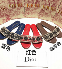 Christian Dior CD Slippers For Women #572668 Wholesale desgin fashion shoes