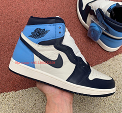 Nike Air Jordan 1 Retro High OG Obsidian Blue UNC