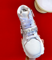 Miu Miu Monstar Jewelled Leather Sneakers