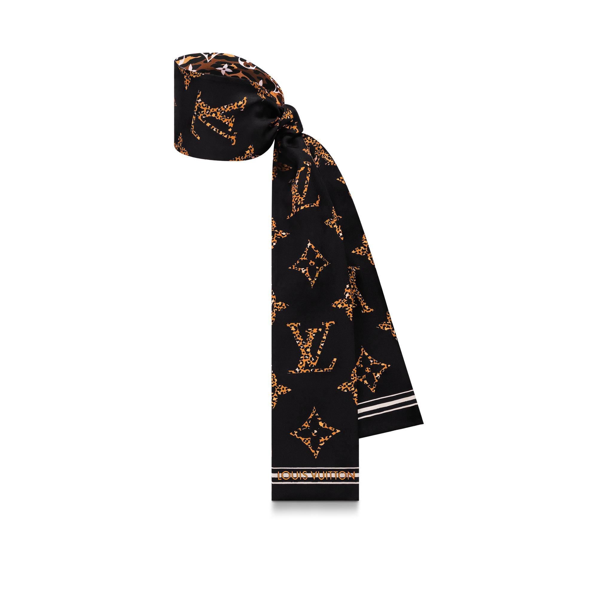 Louis Vuitton M73648 Monogram Giant Jungle bandeau Women fashion scarf scarves  12