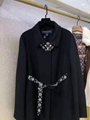 LV Belted Trapeze Coat Monogram canvas belt the traditionnal cape shape
