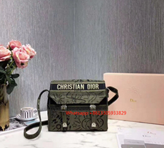 CHRISTIAN DIOR Oblique Diorcamp Messenger Blue