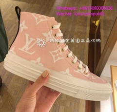 Louis Vuitton Monogram Casual Style Blended Fabrics Low-Top Stellar Sneakers