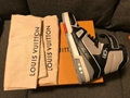 Louis Vuitton Virgil Abloh Lv Trainer Low Sneaker Cement Grey men women shoes