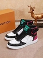 Louis Vuitton Tattoo sneaker boot emblematic Taiga leather bold rainbow-colored
