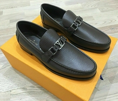 Louis Vuitton Leather Major Loafer Formal Shoes Hokenheim Mocassin dress flat