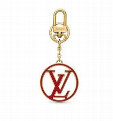 Louis Vuitton LV Circle Epi Leather bag charm and key holder keyring bag charm