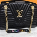 Louis Vuitton New Wave Chain Tote in soft calf leather body-friendly bag cheap