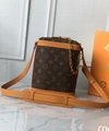 Louis Vuitton M44877 Milk Box Mini Noé Virgil Abloh's natural leather trim
