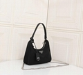Wholesale Prad black nylon mini Hobo Bag Luxury fashion handbags Wallets women