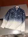 Louis Vuitton Star Gradient Denim Jacket Shirt LV fashion Clothes for sale