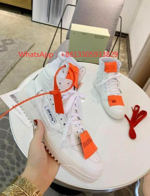 IMG 1 Off-White Men's Off Court 3.0 High-Top Leather ODSY-1000 Sneakers fashion boots