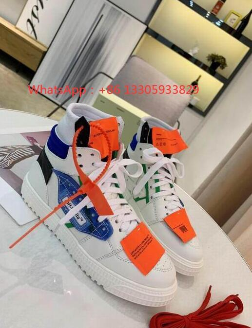 IMG 6 Off-White Men's Off Court 3.0 High-Top Leather ODSY-1000 Sneakers fashion boots