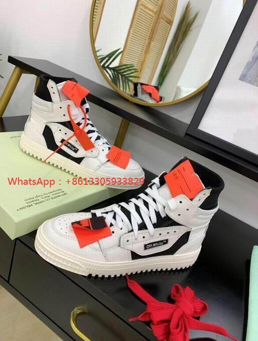 IMG 3 Off-White Men's Off Court 3.0 High-Top Leather ODSY-1000 Sneakers fashion boots