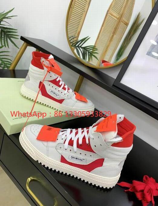 IMG 2 Off-White Men's Off Court 3.0 High-Top Leather ODSY-1000 Sneakers fashion boots