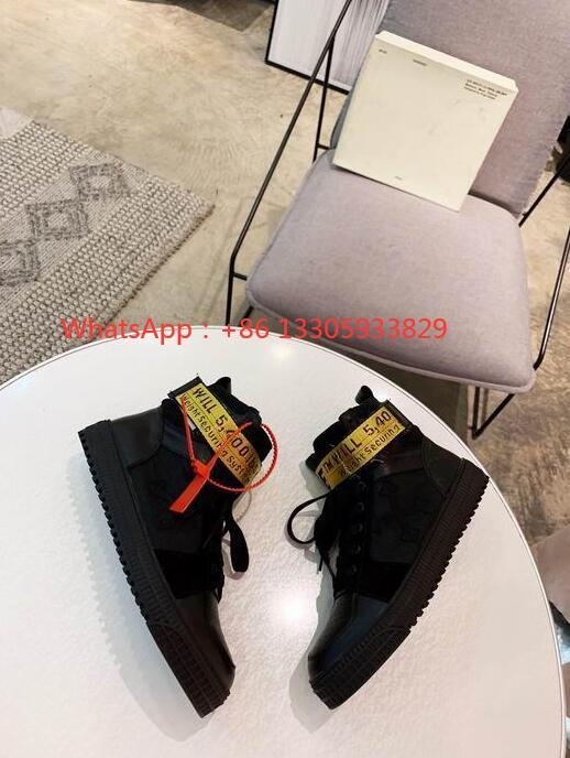 OFF-WHITE 70´s high top  Leather sneakers men women
