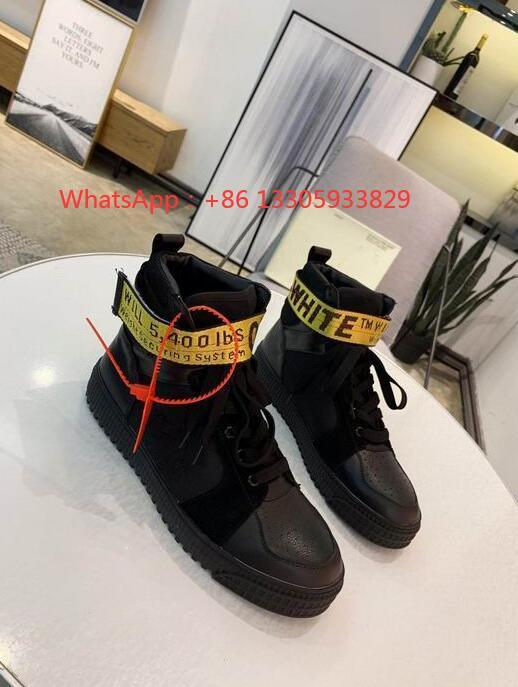 """""""OFF-COURT"""" 3.0 shoe high top  Leather sneakers men women off white ODSY-1000"""