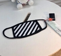 fashion best SS19 Off-White Brush Arrow Mouth face Mask