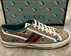 fashion Men's shoes Disney x Gucci Tennis 1977 sneaker with Web cheaper price  (Hot Product - 1*)
