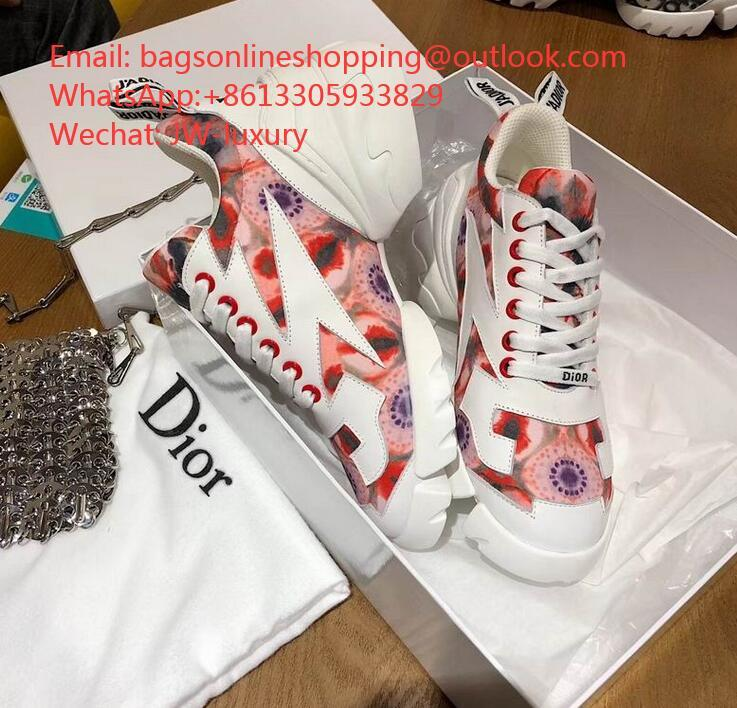 Dior D-Connect flowers Sneaker WhatsApp:+8613305933829