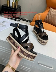 img 1  Louis Vuitton 1A63W8 Boundary Wedge Sandal WhatsApp+8613305933829