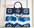 Louis Vuitton Red Tote Bags Limited Edition Purse Handbags LV Escale Onthego GM
