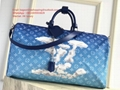 Louis Vuitton Cloud Keepall Bandouliere 50 M86988 travel bag men Luggage handbag