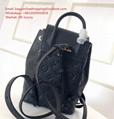Louis Vuitton Exclusive Montsouris PE Women Backpack M45205 Black
