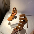 balmain livia sandals with elastic straps WhatsApp:+86 13305933829
