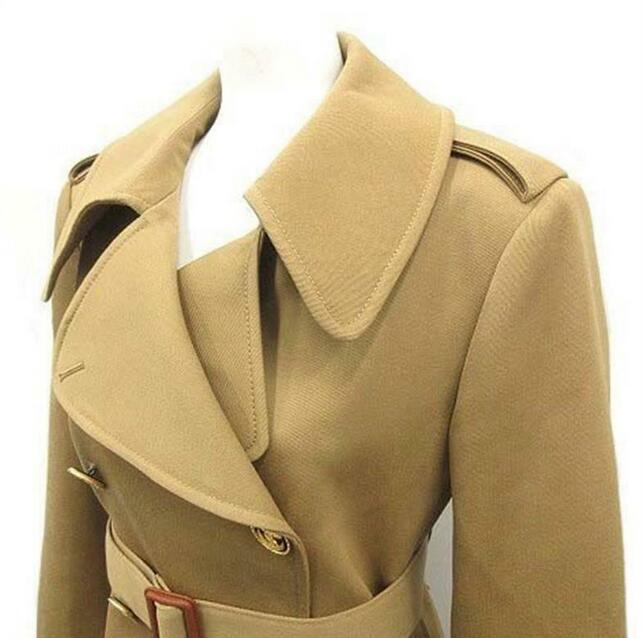 Louis Vuitton Double-Breasted Trench Whatsapp:  +8615060385838