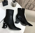 Balmain latest B heel boots WhatsApp: +8613305933829