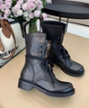 louis vuitton 1A679B Metropolis Ranger boots black calf leather shoes