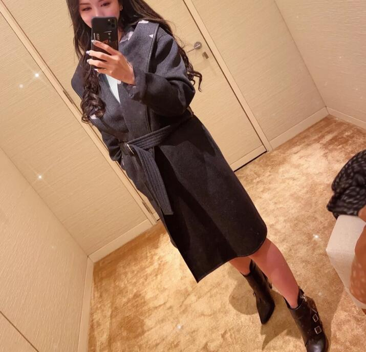 Louis vuitton 1A82GO Hooded Wrap Coat Whatsapp:  +8615060385838