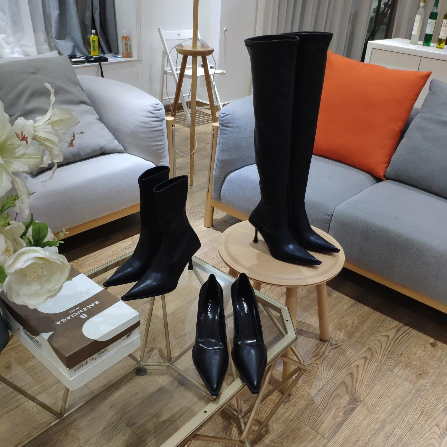 img 3 Balen Women Booties 40mm/80mm WhatsApp+8613305933829