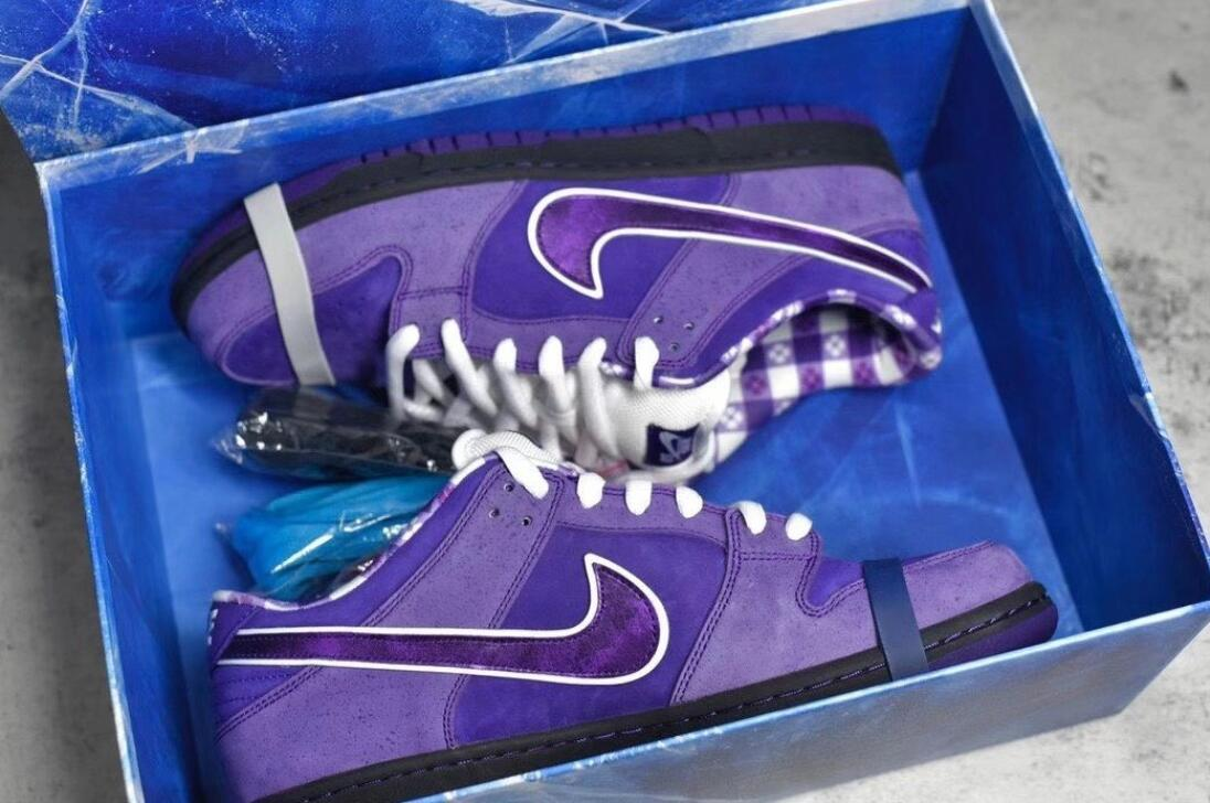 Concepts X Nike Sb Dunk Low Purple Lobster running sneaker men shoes