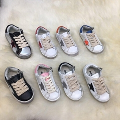 GOLDEN GOOSE KIDS Superstar leather sneakers Children Girls Boys Toddler baby