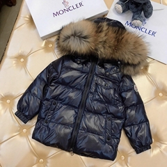 MONCLER ENFANT Hooded down coat waterproof Children Girls Boys Toddler baby