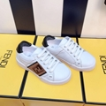 baby Fendi Kids FF slip-on sneakers Children Girls Boys Toddler