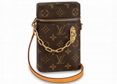 LOUIS VUITTON Phone Box Monogram compact bag FRANCE M44914 LV small bags cheap
