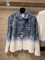 Louis Vuitton men's denim workwear shirt Monogram Spray motif