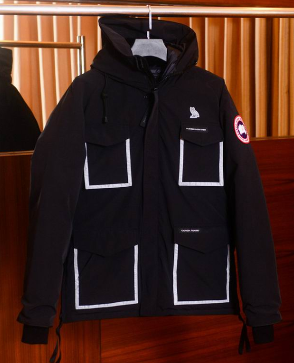 IMG 1  OVO x Canada Goose Black Constable Parka Jacket Men's Whatsapp:  +8615060385838