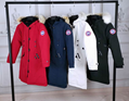 women coat Canada Goose Kensington Parka winter jacket