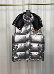 IMG 1  Moncler X Palm Angels Snow Angels Puffer Vest WhatsApp+8613305933829