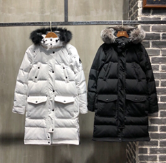 MOOSE KNUCKLES Causapcal Down Parka With Fur Hood winter Padded Coat