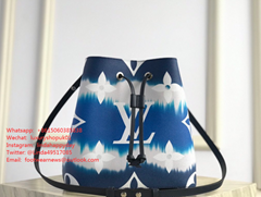 LV Escale Collection NéoNoé MM Tie-Dye Monogram canvas women handbag