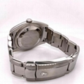 Rolex Datejust 116200 White Roman Dial Stainless Steel Box Papers Service Paper