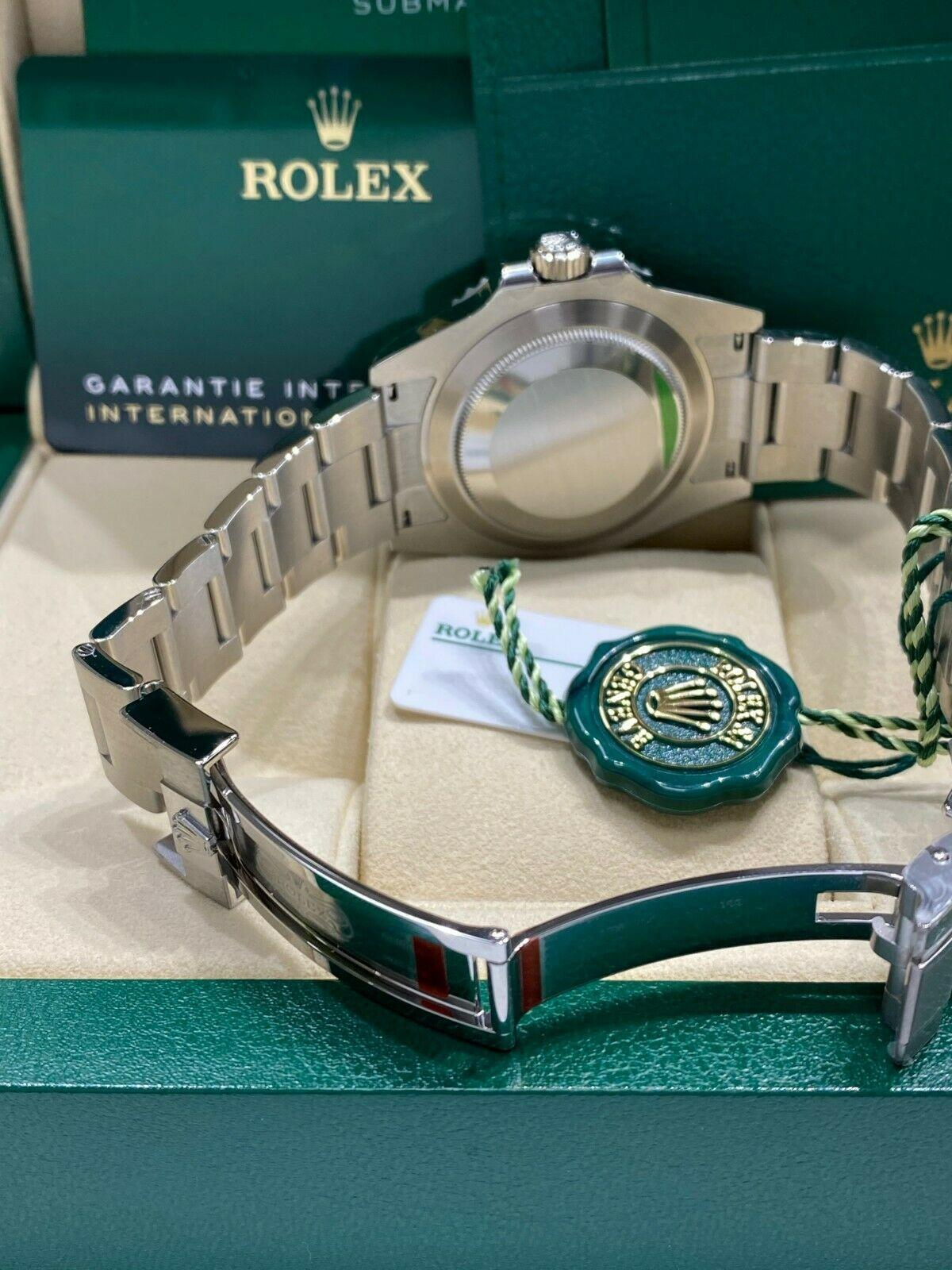 BRAND NEW Rolex Ceramic Submariner 124060 Stainless Steel 41mm Box Papers 2020