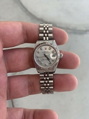 Ladies Rolex Oyster Perpetual Datejust Watch 6516 Stainless Steel 26mm luxury